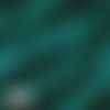 Tissu double gaze brodee - bleu paon