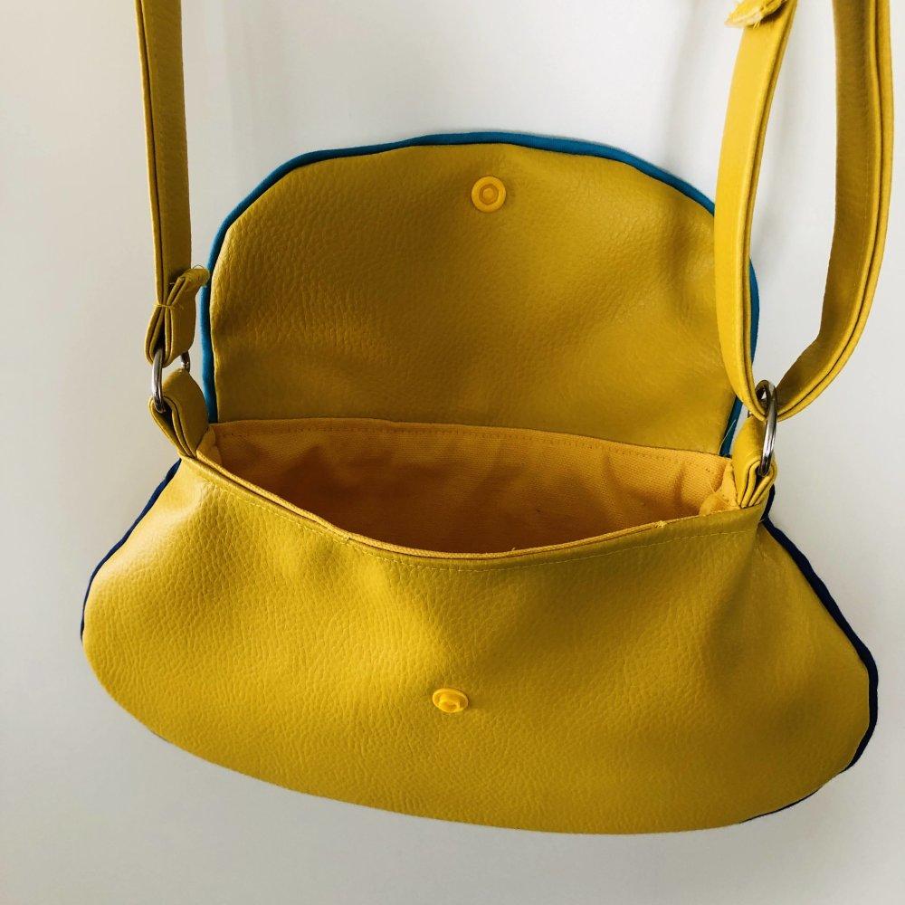 Mini sac à main Jaune