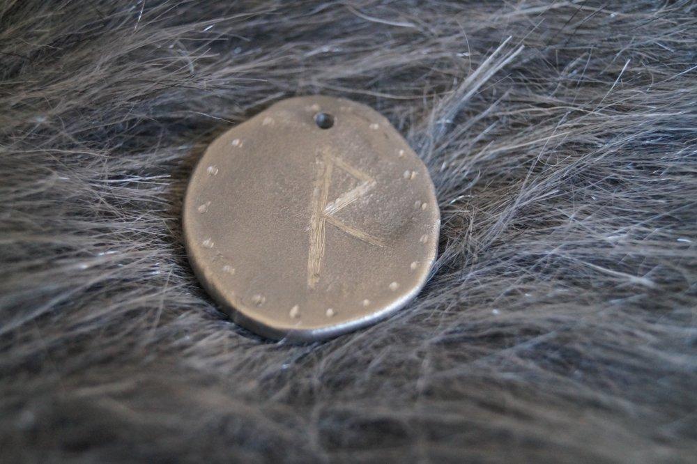 Pendentif runique viking