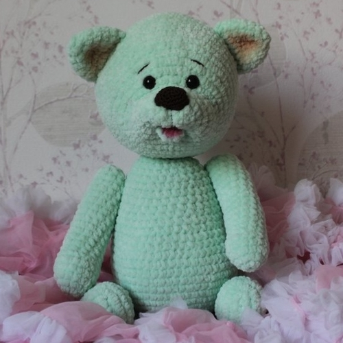 Anouk l'ours vert