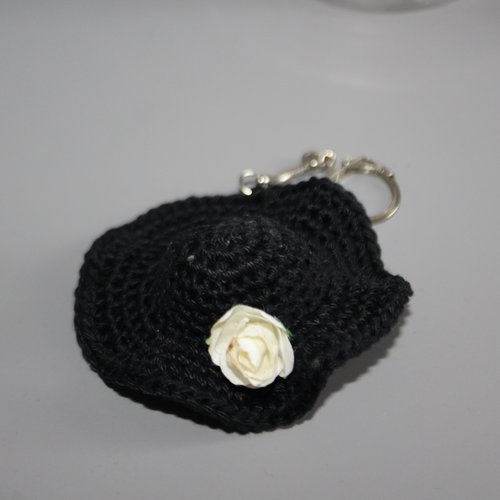 Porte clé chapeau