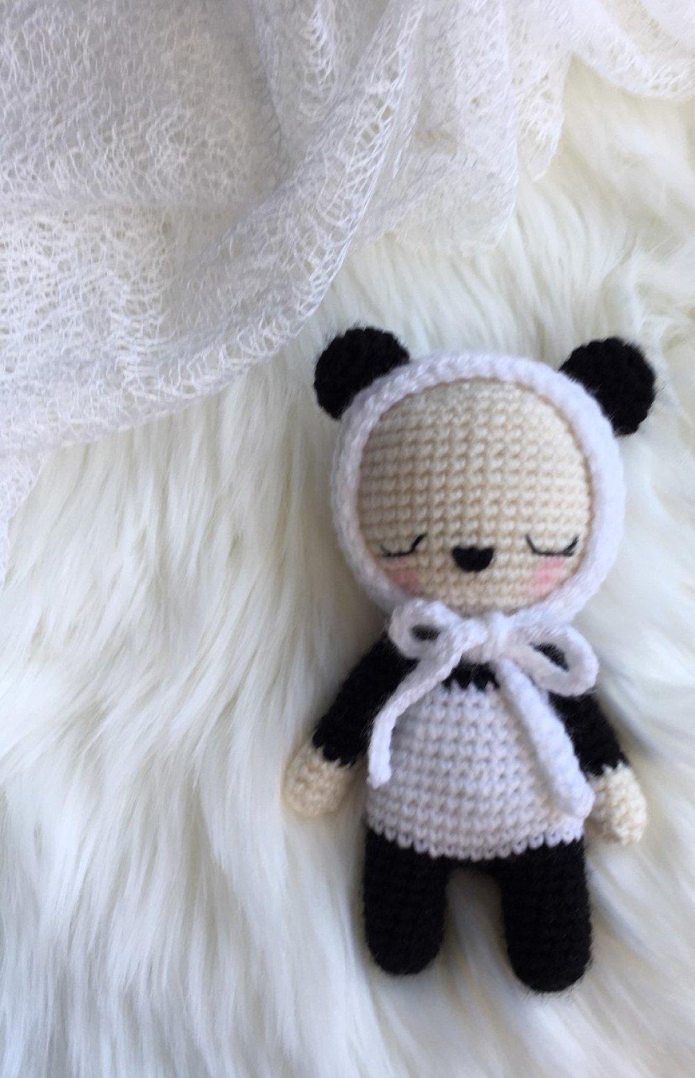 Amigurumi Pattern Premium: Kumiko Panda - Tarturumies | 1550x1000