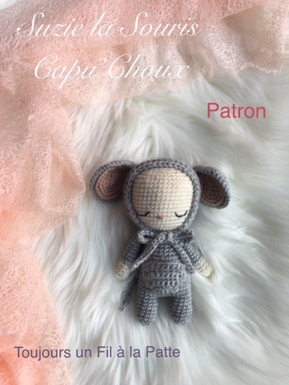 Suzie La Petit Souris Capuchoux Et Sa Poche à Pièce Tutoriel Patron Amigurumi Crochet