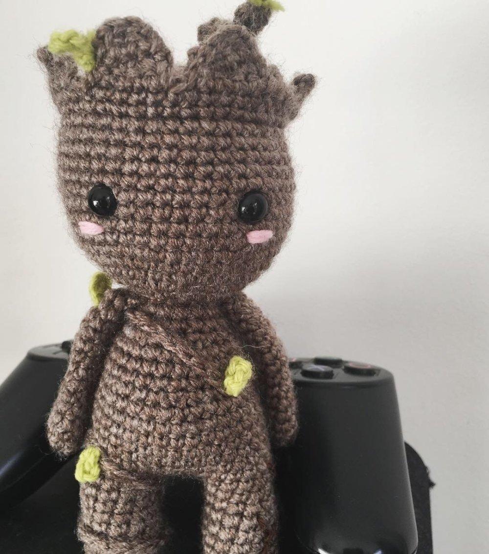 PATTERN - Baby Groot (vol2) - Amigurumi Crochet Pattern | Crochet ... | 1132x1000