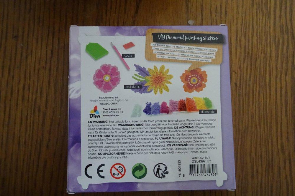 Painting diamond stickers
