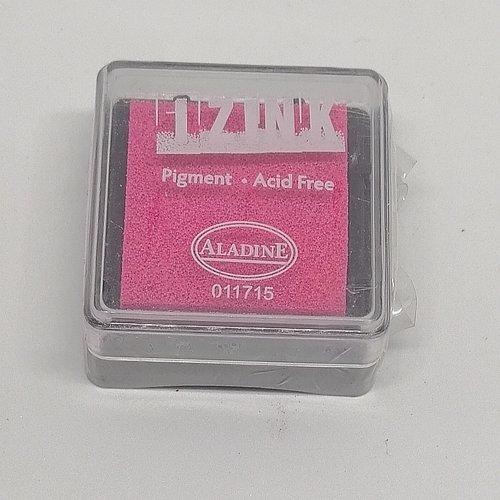 Encre izink pigment rose taille s 3cm/3cm/2cm