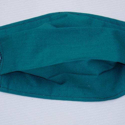 Masque tissu lavable , masque de protection, masque adulte vert, pour homme et femme