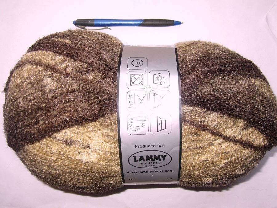 350 gr Pelote bayadère Ombré 13 Lammy Yarns