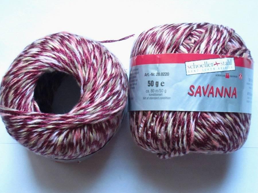 10 pelotes savanna 15 Schoeller + Stahl