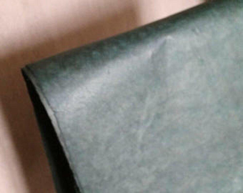 Une feuilles de papier népalais  50/70cm vert très foncé