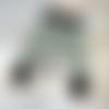 Sarouel bébé en sweat doudou gris motif panda