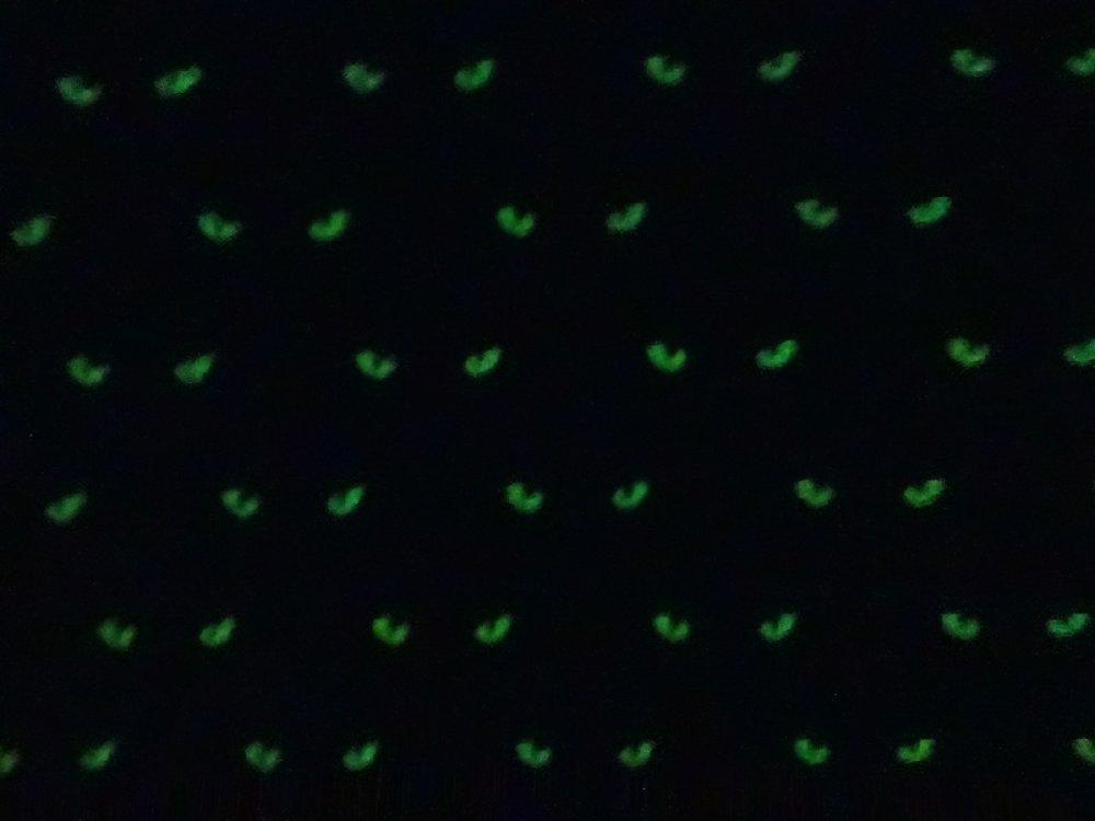 pantalon sarouel évolutif bébé motif chat phosphorescent