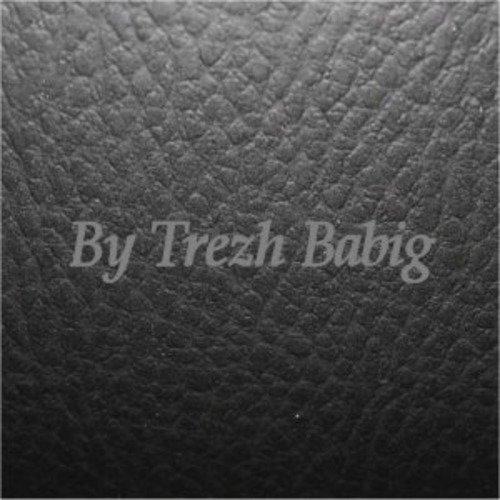Tissu simili cuir  coupon 20x25 cm noir