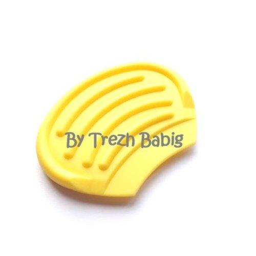 Anneau dentition bébé nageoire jaune