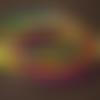 "Bracelet d'inspiration ethnique africaine ""seringeti"" violet, rouge, bleu pétrole, vert et jaune"