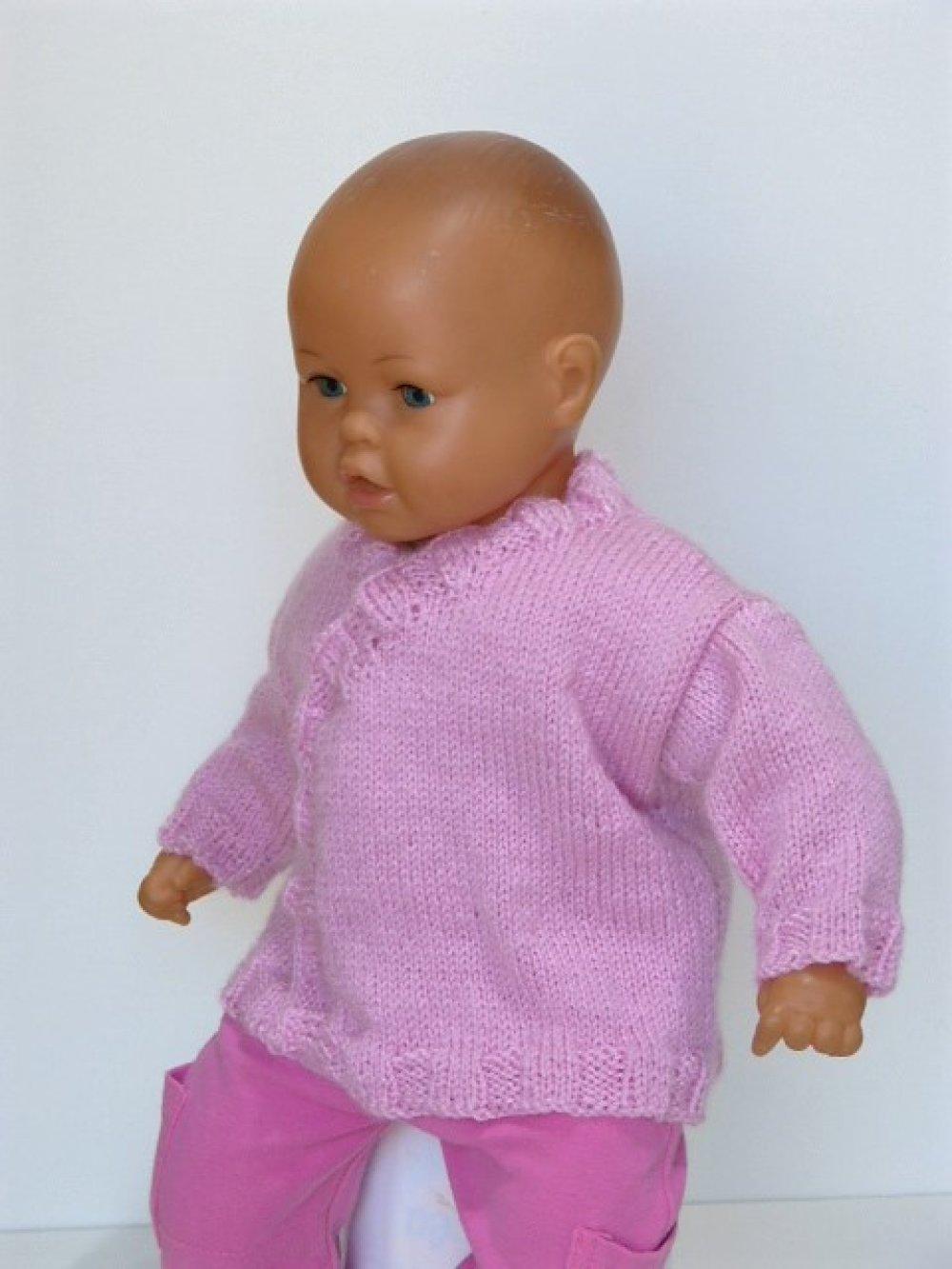 Brassière cache coeur rose pour bébé