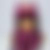 Bonnet hibou fille & écharpe laine (taille 4 ans/ 6 ans)