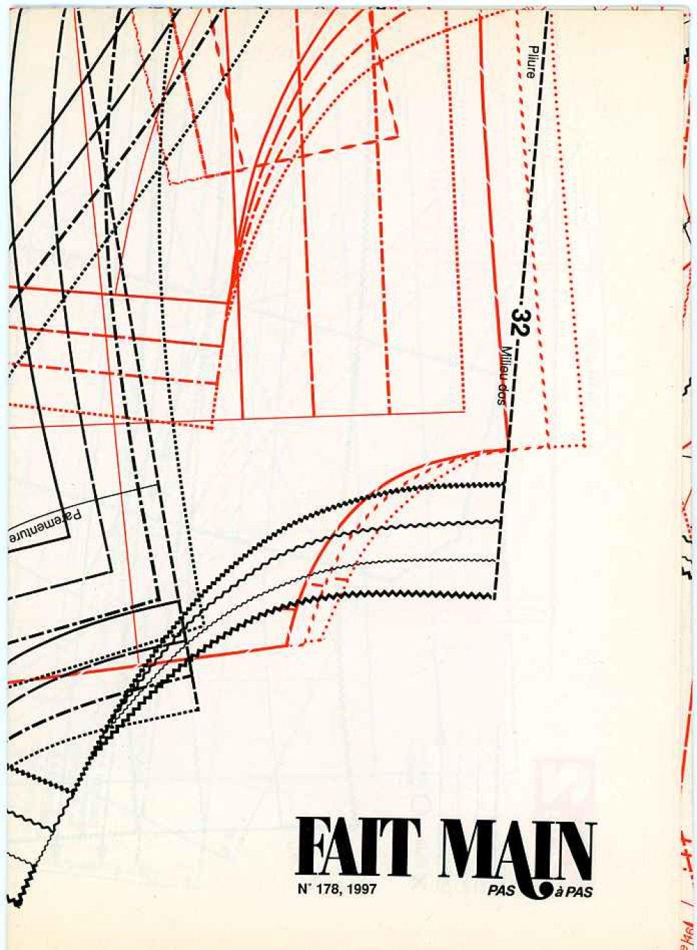 Catalogue Tricot FAIT MAIN n°178 /1997 avec explications et grilles en français