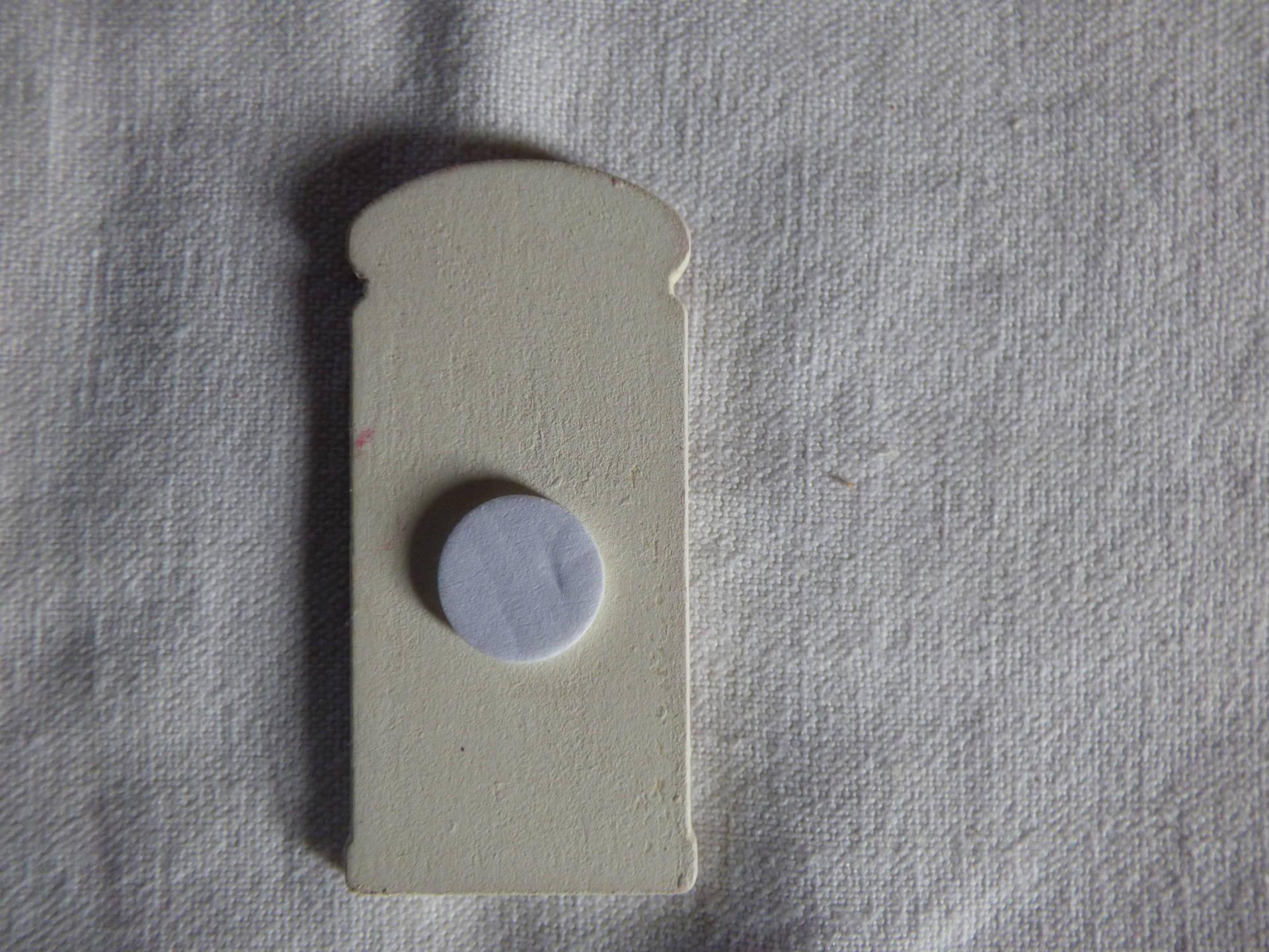 stickers en bois - cabine de téléphone anglaise