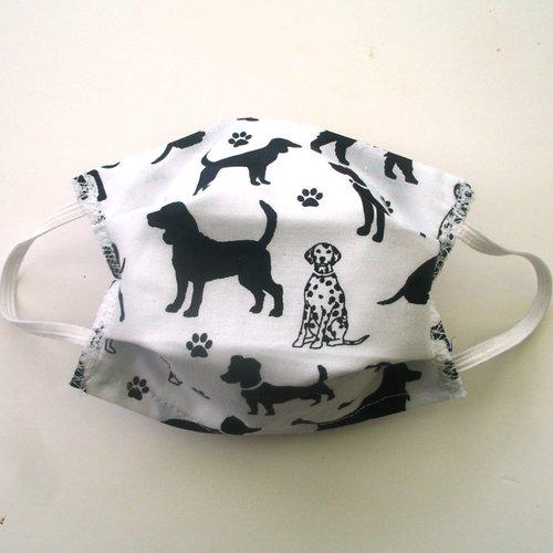 Masque de protection enfant petit chien categorie 1