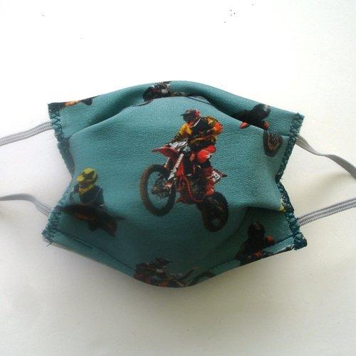 Masque de protection enfant motocross categorie 1