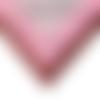 Cadre photo 18x24, encadrement bois couleur rose, avec strass