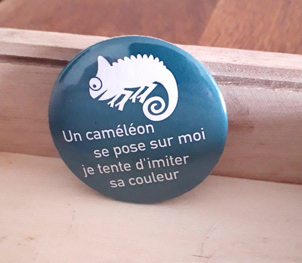 Badge caméléon