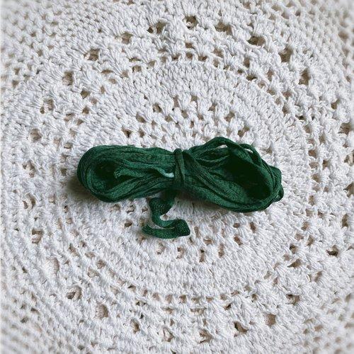 Lacet coton pétale 3,5 mm  pour broderie au ruban