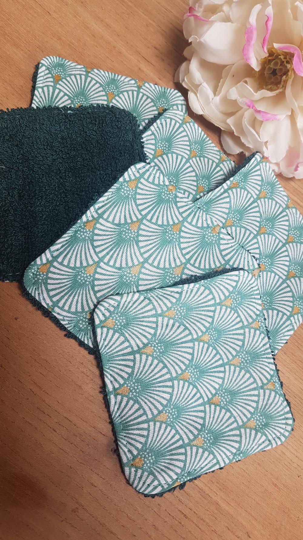 6 Lingettes lavables de Pauline