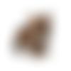 Patch , ecusson thermocollant tigre à coudre ou repasser 60 x 54 mm