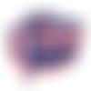 Ruban tricolore - bleu-blanc-rouge -12 mm - vendu en 50 cm