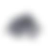 Sequins paillettes anthracite à coudre - 7 mm