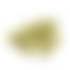 Sequins paillettes dorées à coudre - 7 mm