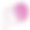 Ruban dentelle rose séparable - 30 mm - vendu au mètre