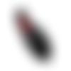 Patch  écusson thermocollant rouge à lèvre 83 x 33 mm