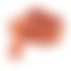 Ruban rouille  - 15 mm - ruban de qualité française vendu en 50 cm