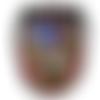 Patch , écusson thermocollant blason aigle 99 x 88 mm