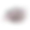 Ruban gros grain gris imprimé merry christmas - 10 mm -  ruban de noel vendu au mètre -  pour couture ou scrapbooking