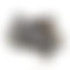 Ruban élastique imprimé léopard  - 15 mm - vendu en 50 cm