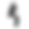 Patch, écusson thermocollant michael jackson à coudre ou repasser  105 x 55 mm - écusson