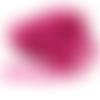 Ruban fleur rose fuchsia - 15 mm - galon fleur vendu en 50 cm