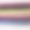 Lot de 6 chutes de rubans pailletés - 10 mm - ruban effet velours synthétique