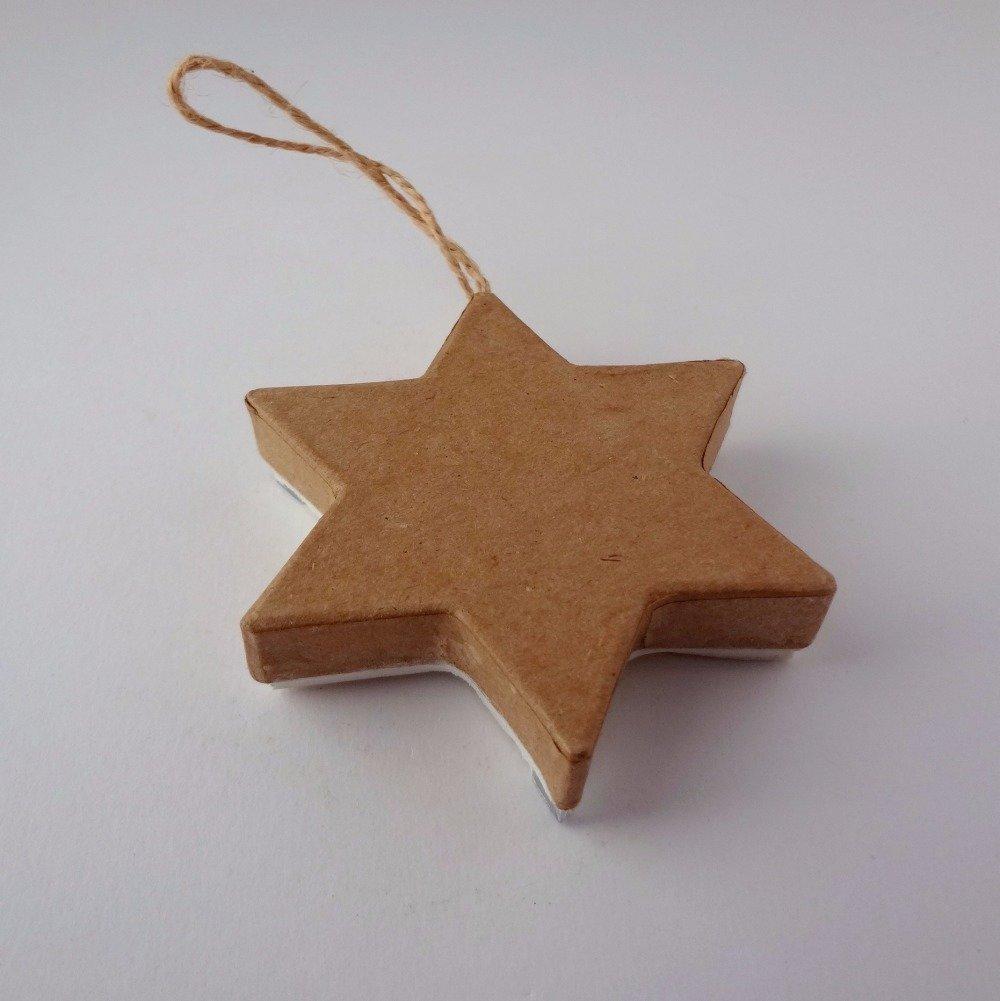 Étoile bleue de Noël