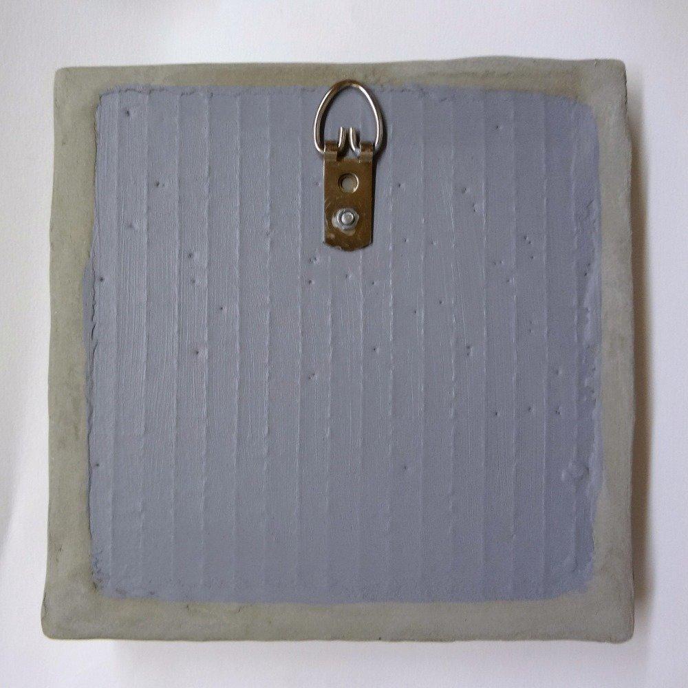 Tableau mosaïque petit tourbillon gris