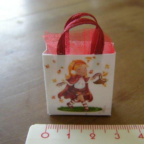 Sac miniature, maison de poupée, collection, enfant