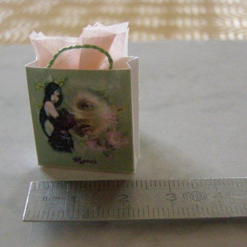 Sac miniature, maison de poupée, collection, femme