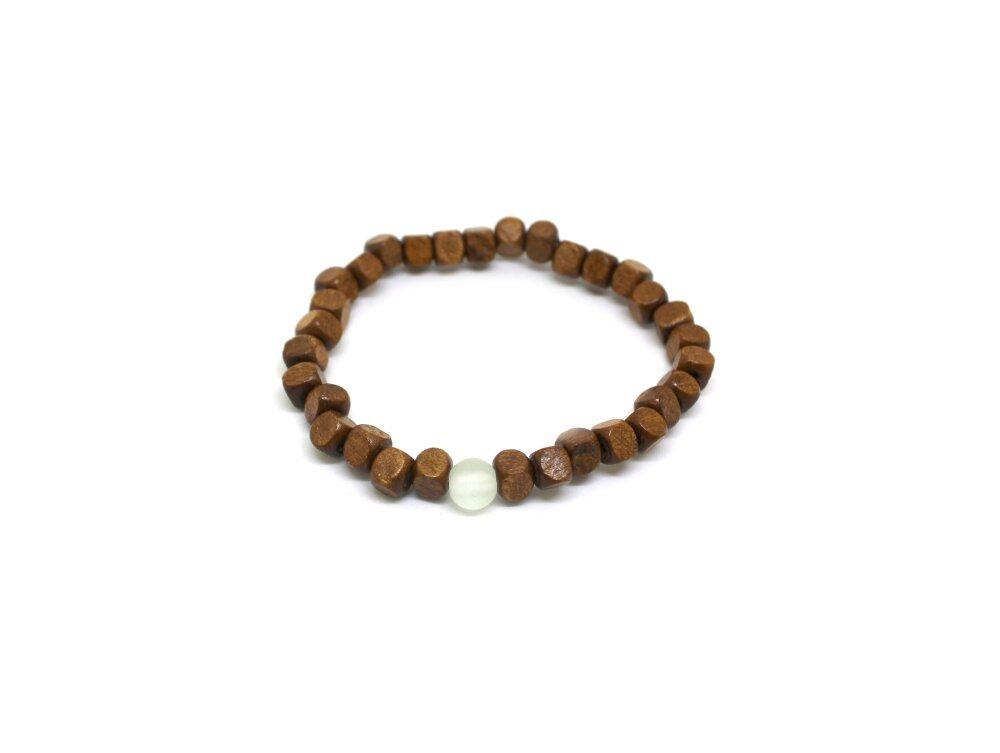 Bracelet homme perles