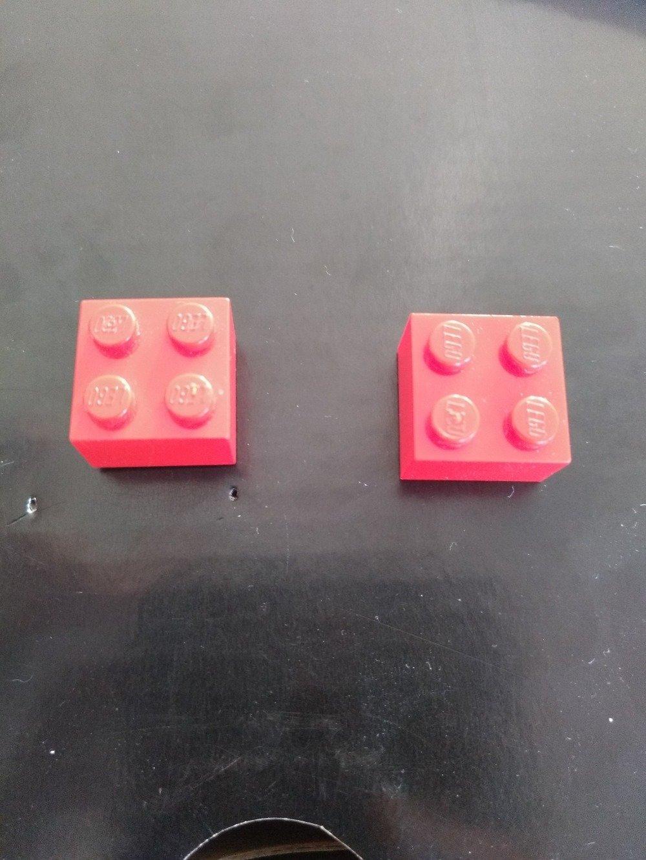 Boucles d'oreille Lego