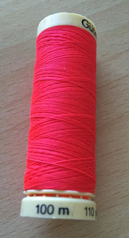 Fil effet néon 3837 rouge