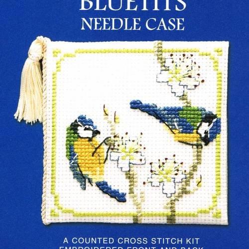 Étui aiguilles Counted Cross Stitch Kit Papillons /& Buddleia par Textile Heritage